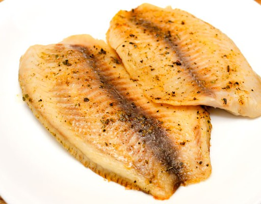 Tilapia filet chilipoeder